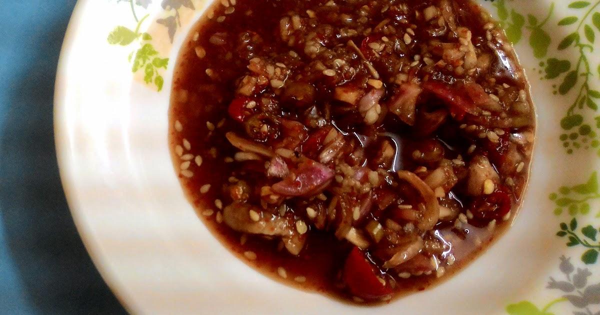 Resepi Pencicah Daging/Ikan/Seafood Bakar Ala Thai ...