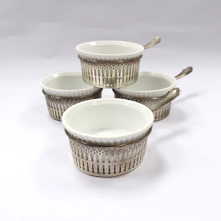 Sterling Silver Custard Cup Set