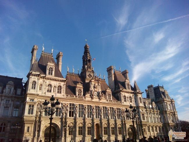 Visitar Paris a pie Marais Louvre 4
