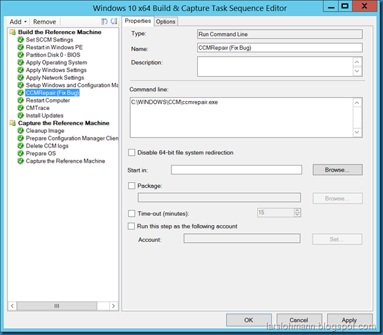MINDCORE BLOG: SCCM client will not initialize during task Sequence