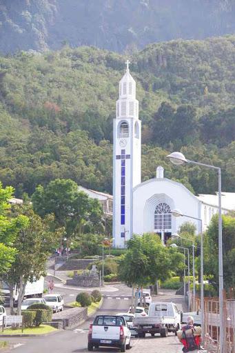 L'église Notre-Dame-des-Neiges de Cilaos.