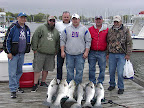 Great group of PA guys got their limit.  May 2013