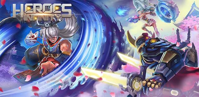 تحميل لعبة Heroes Infinity مهكرة