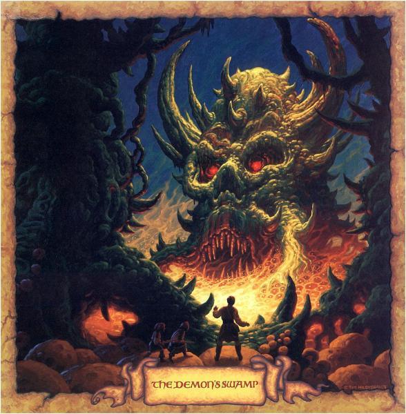 The Demons Swamp, Magic Animals 1