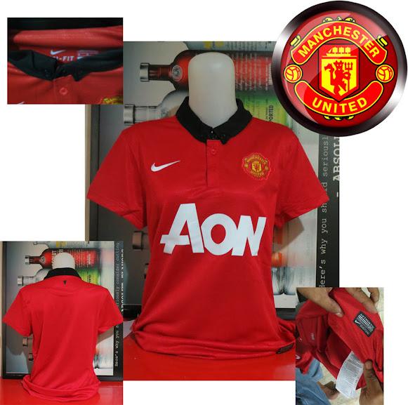 Jual Jersey Cewek Manchester United Home 2014 Terbaru
