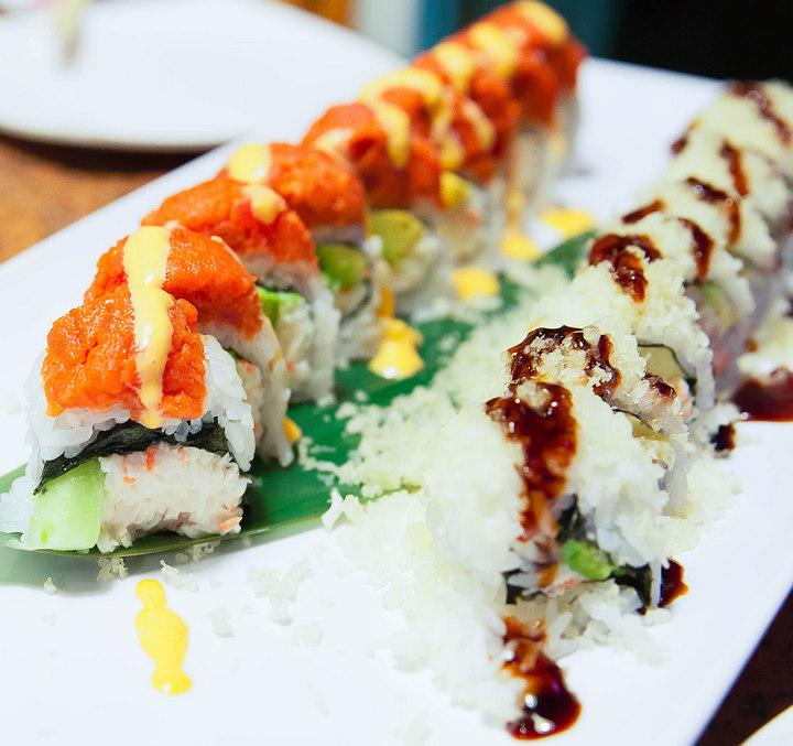 photo of Fuji and Shrimp Crunch Rolls