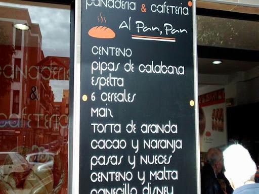 AL PAN PAN, PANADERÍA SIN GLUTEN, CAFETERÍA