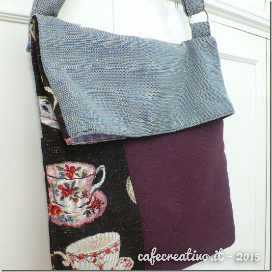 cafecreativo - Tutorial Borsa Piegata - Fold Over Bag (1)