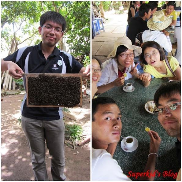我在湄公河拿蜜蜂