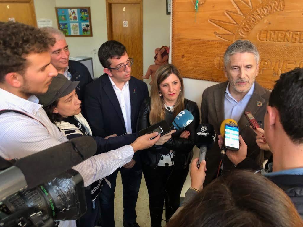 Marlaska e Irene García destacan la labor de la Coordinadora Alternativas y apuestan por el plan transversal en el Campo de Gibraltar
