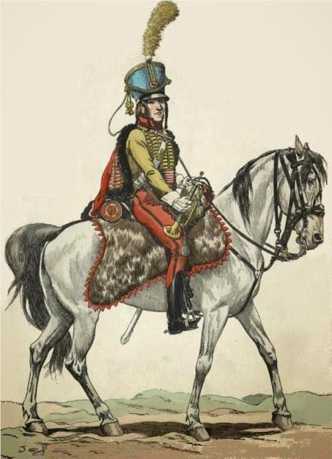 Trumpeter 1st Westphalian Cuirassiers Regiment 1813 MiniArt 1/16 Trompette9etromphussar1809