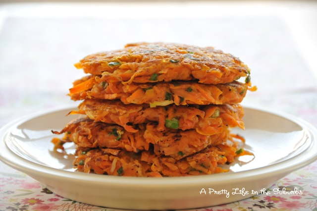 Guest Post- Sweet Potato Latkes -