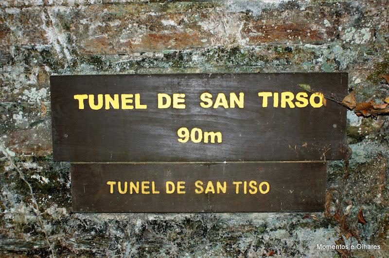 Ruta del Ferrocarril, Túnel de San Tirso
