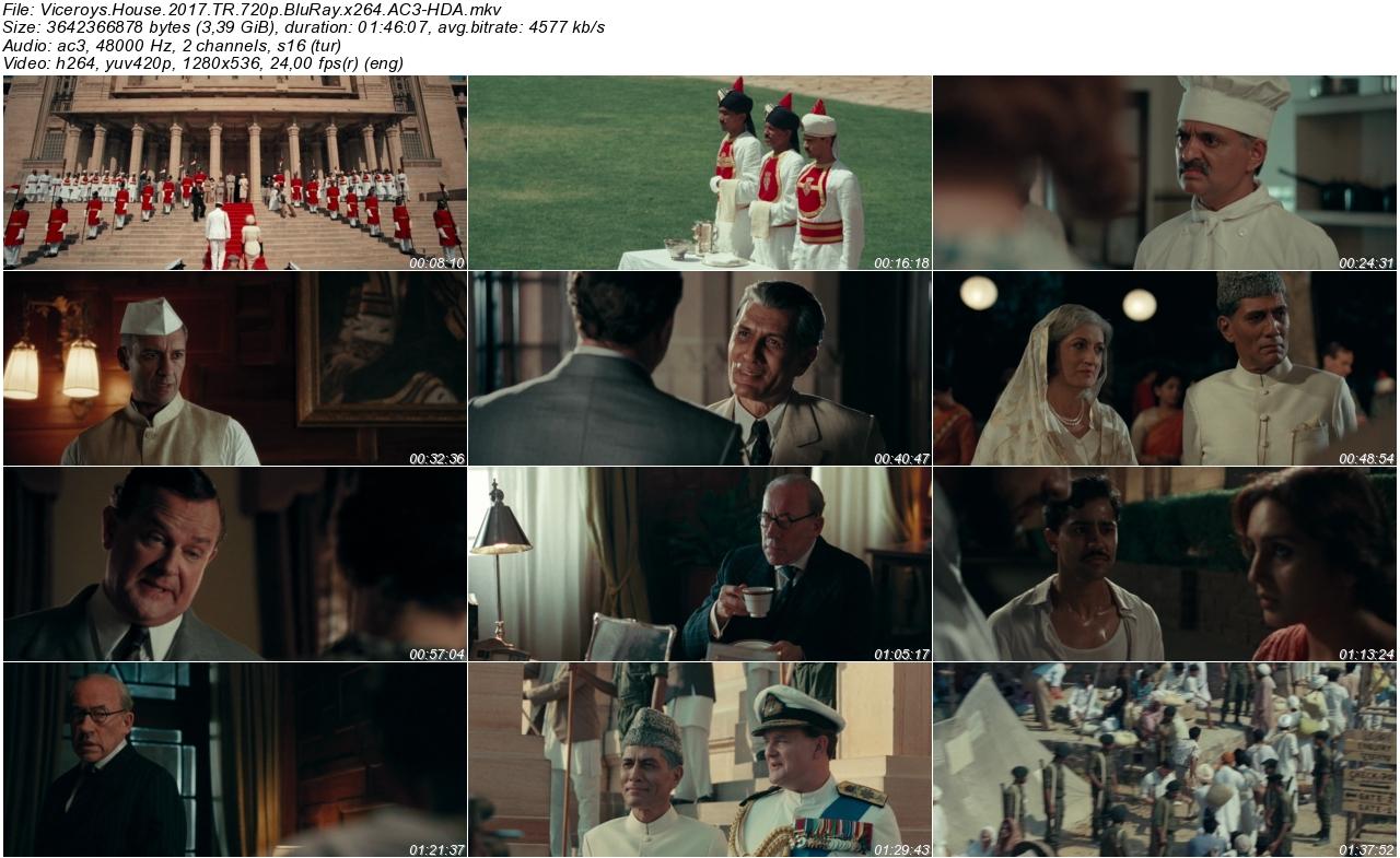 Viceroys House 2017 - 1080p 720p 480p - Türkçe Dublaj Tek Link indir