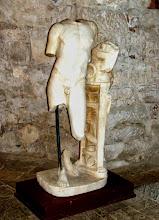Photo: Apollonia - Marble statue of Pythic Apollo, 2nd century AD