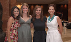 Adelina Kainer, Maggie Newell, Julie Larrabee and chairwoman Lindy Berkley.