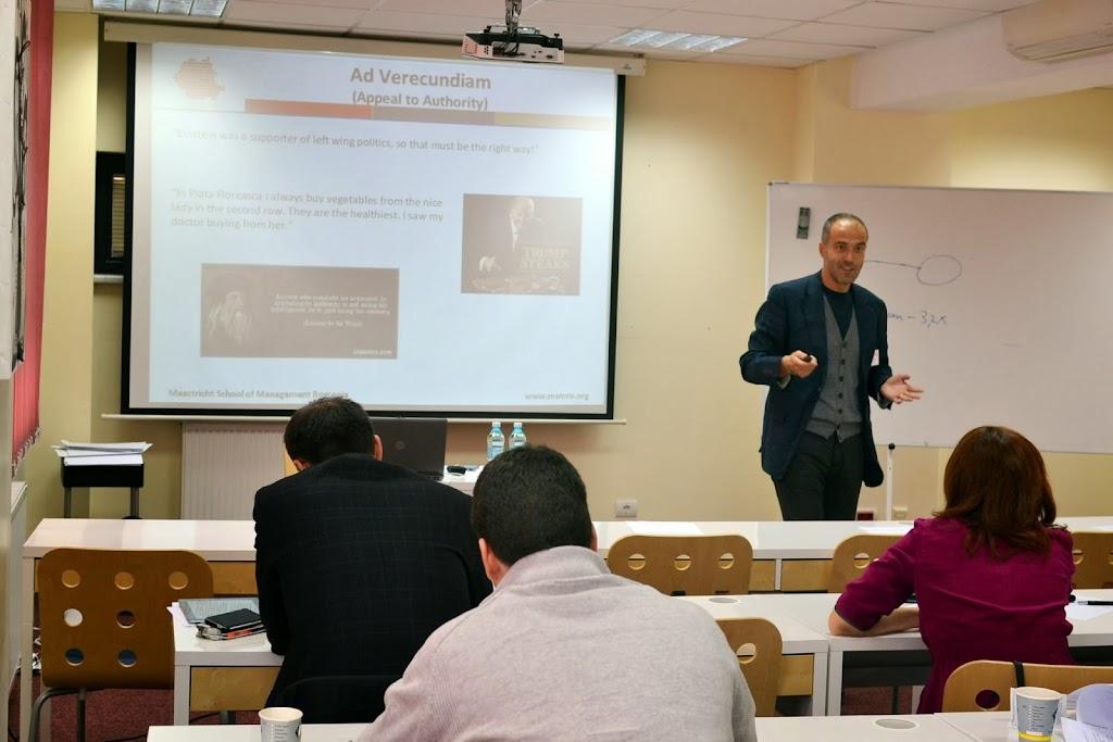 Critical Thinking, Master Class with Radu Atanasiu 112