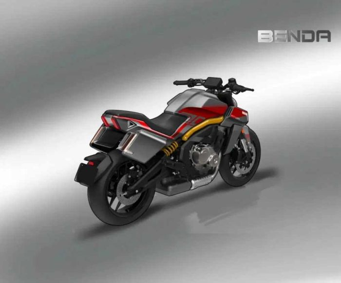Benda,BD999,Benda BD999, Benda Bike,Benda hydro power motorcycle