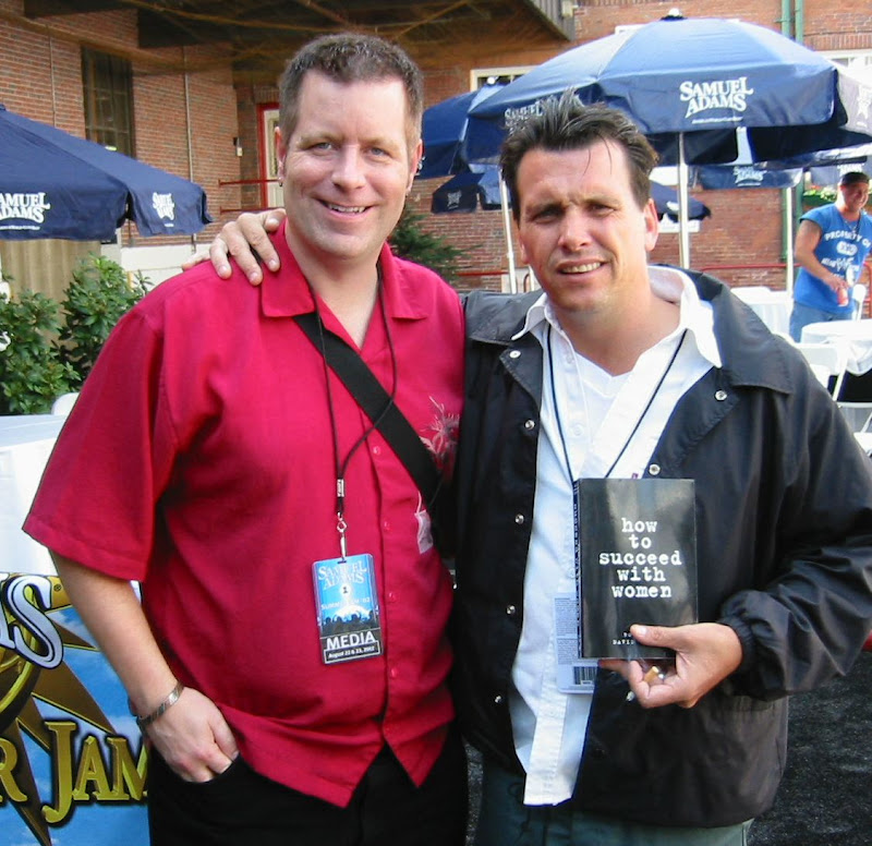 David Copeland With Dickey Barrett Of The Mighty Mighty Bosstones, David Copeland