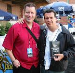 David Copeland With Dickey Barrett Of The Mighty Mighty Bosstones