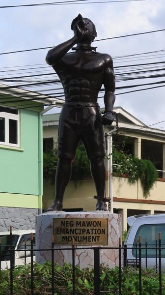 Slavery Statue Close Up