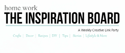 Homework The Inspiration Board Banner  SMALL