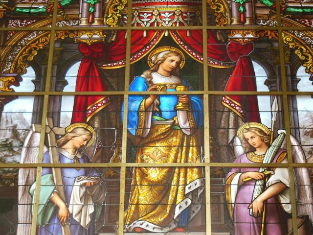 Vidrieras de la Catedral de San Bavón