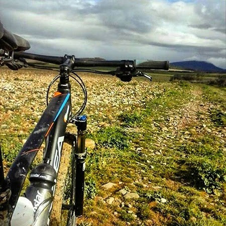 paisaje ciclismo