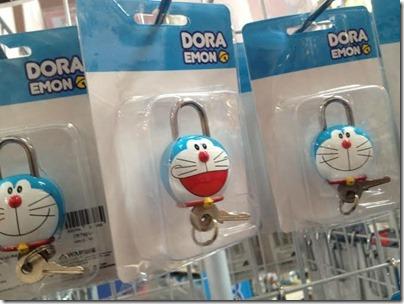 Doraemon Lock