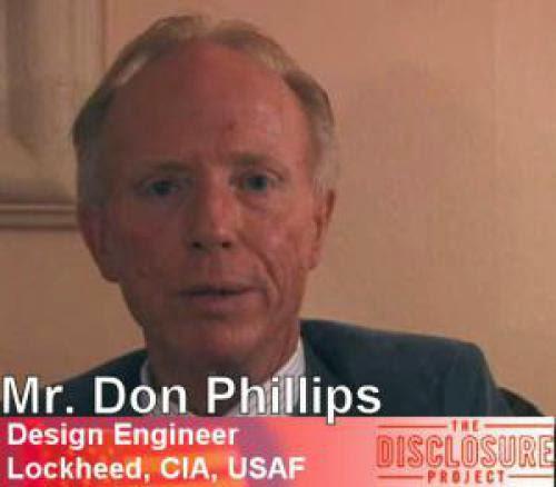 Ufos Are Real Lockheed Skunkworks Engineer Don Phillips
