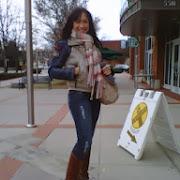 Diana Degarmo wearing Beija-Flor Jeans