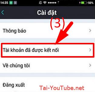 Hướng dẫn đăng xuất tài khoản Bigo Live trên điện thoại cài Android + HÌnh 8