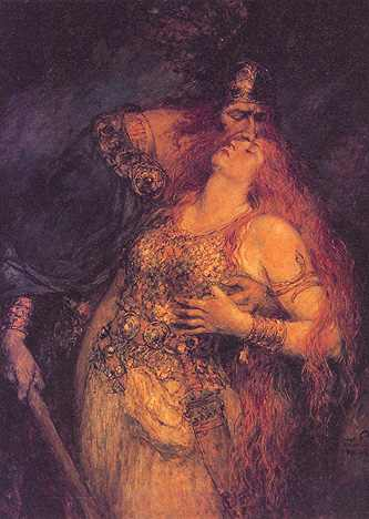 The Last Farewell Of Wotan And Brunhilde, Asatru Gods And Heroes