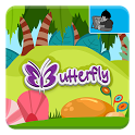 Butterfly - Kids game icon