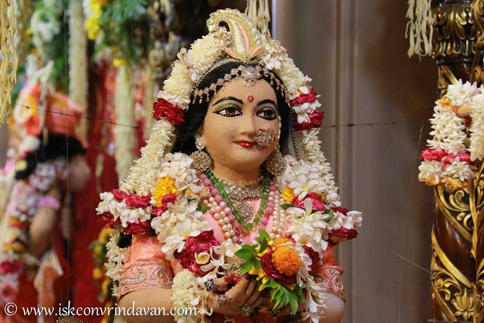 ISKCON Vrindavan Shringar Deity Darshan 29 May  2016 (8)