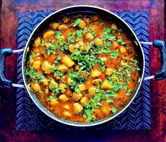 Soya Chunks Curry Recipe   Breakfast Care