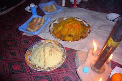 Couscous préparé par notre cuisinier Saïd