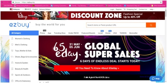ezbuy Malaysia! Platform Membeli-Belah Yang Menjadi Pilihan Utama Mommy Firash! 2