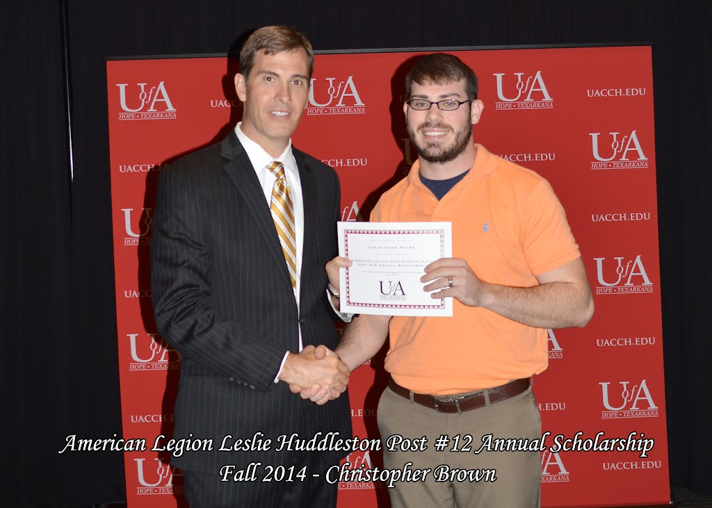 Scholarship Awards Ceremony Fall 2014 - Christopher%2BBrown.jpg