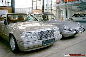 Mercedes and Citroen