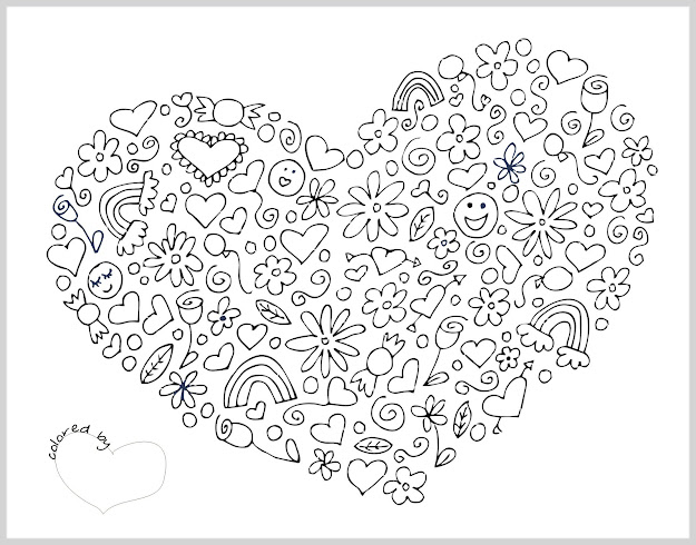Free Coloring Pages For Adults Printable Hard To Color  Coloring