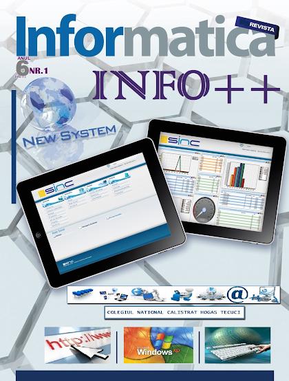 ed5 (ELECTRONIC - revistă scolara) info++_Colegiul National_Calistrat Hogas _Tecuci_GALATI