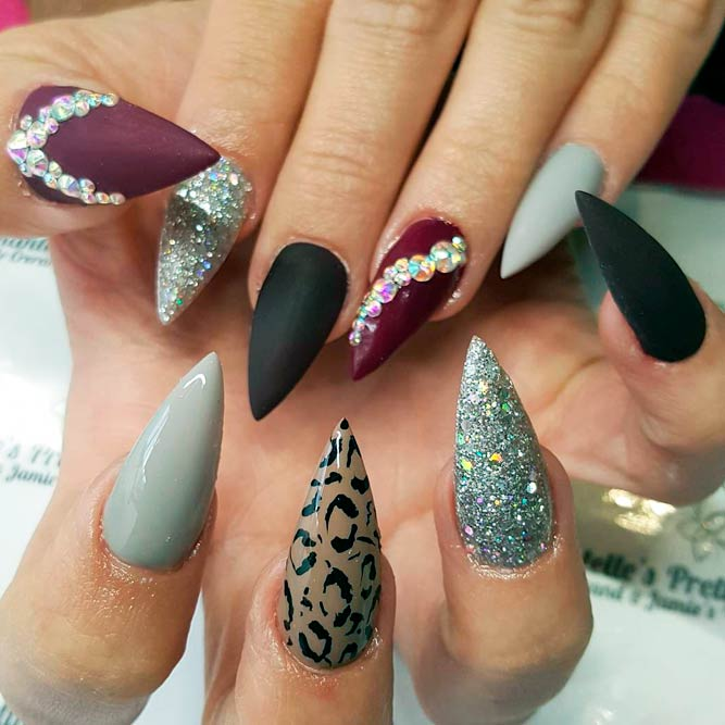 Cute Classy Fantabulous Pointy Nails Designs Fashionist Now