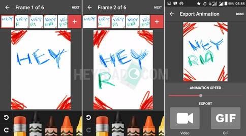Beberapa kali saya telah menciptakan tutorial  Cara Membuat Gambar Bergerak GIF di Android