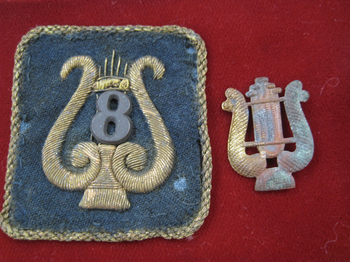 Civil War Musicians Patch & Antiques