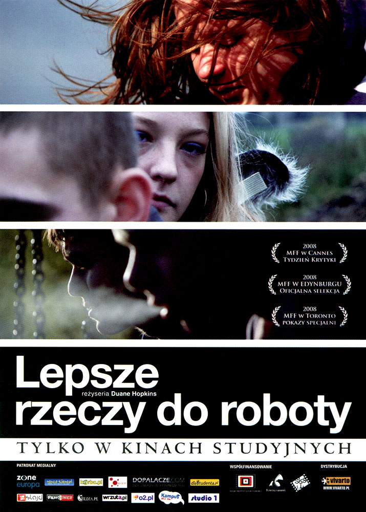 Ulotka filmu 'Lepsze Rzeczy Do Roboty (przód)'
