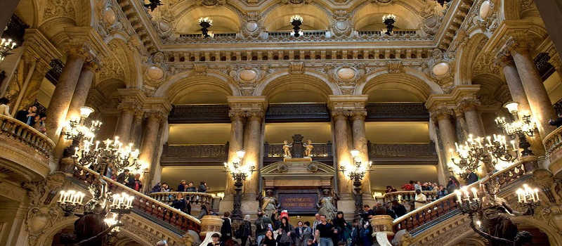 Opera Garnier en Paris