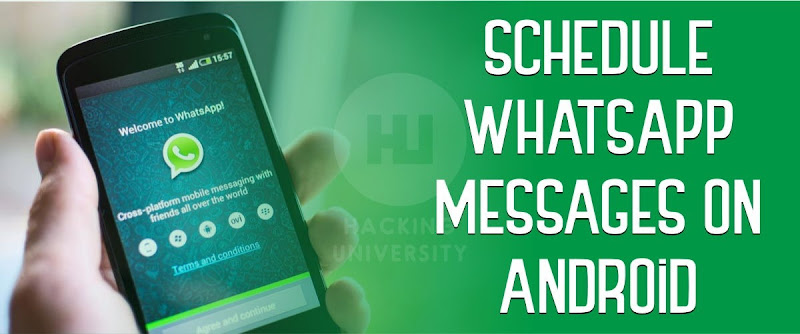 Schedule WhatsApp Messages on Android Phones