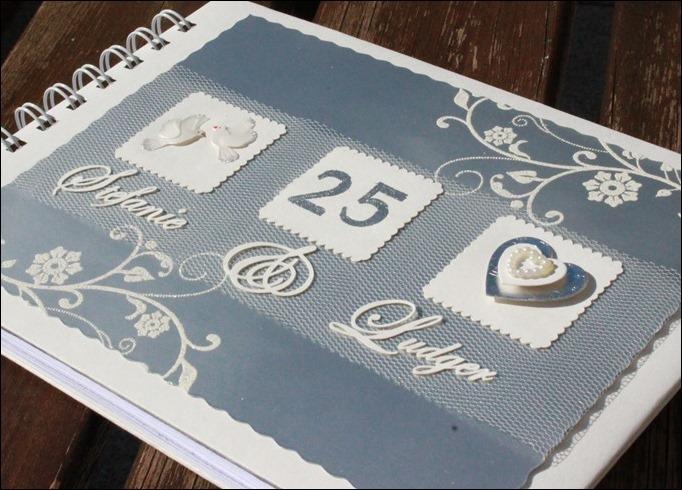 Gästebuch Silberne Hochzeit 01