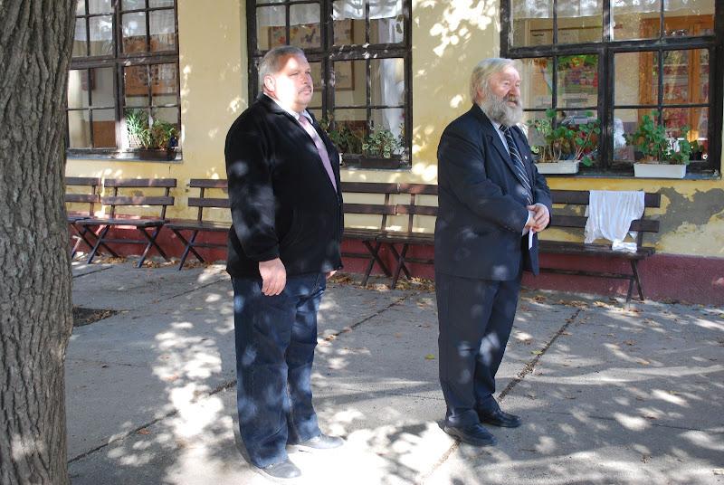 Evva Lajos emlékünnepség Pencen - Králik József és Végh József